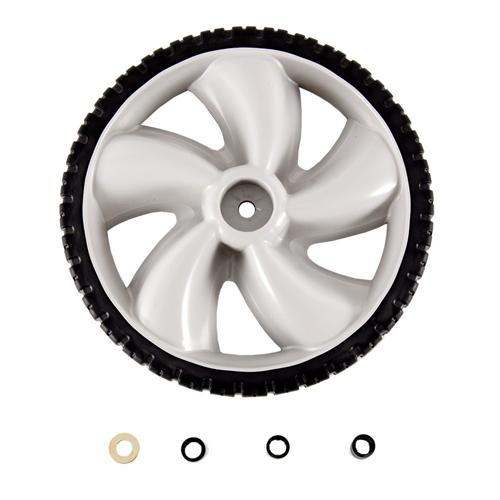 12-Inch Plastic Wheel for Walk-Behind Mowers