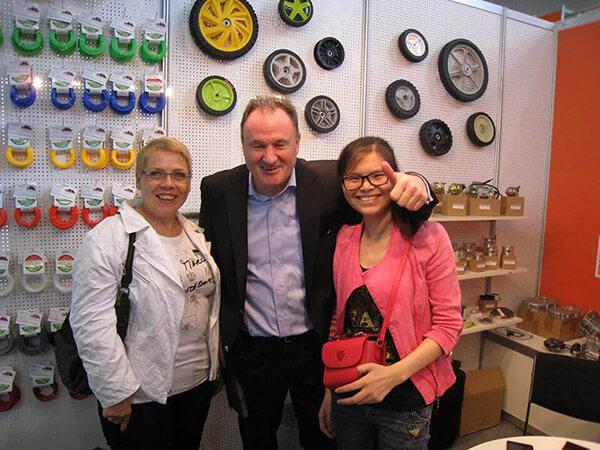 Antanker attend GAFA in Germany